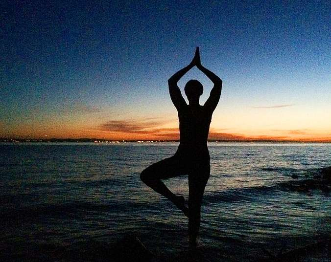 Yoga am Bodensee